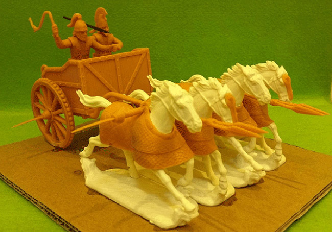 Hobby Bunker: Persian Scythed Chariot